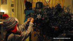 아이들은 벌써 크리스마스 시즌