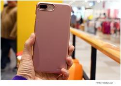 아이폰8플러스 골드 색상이니깐, 엘라고 슬림 아이폰8 핑크 케이스