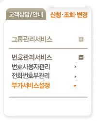 삼성와이즈070 인터넷전화 홈페이지에서 착신전환하는 방법