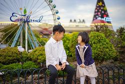 아이들과 함께 하기 좋은~ 에버랜드 가을 사진명소!
