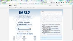 IMSLP에서 클래식 음악 악보 검색하기