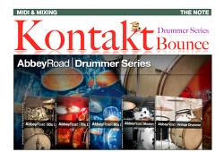 컨탁 드러머 씨리즈 멀티 바운스 : 가이드 강좌 ( How to Bounce Multi with Kontakt Drummer Series ) - 38번째 강좌