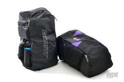 자전거 대회, 여행, 철인 3종을 준비하는 라이더를 위한 가방 자이언트 섀도우 기어가방, 리브 트릴리언트 가방