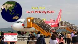 [170513] 달랏-호치민 (DLI-SGN), 비엣젯 항공(VJ361), A320 탑승기