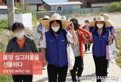[삼성 창업 80주년 기념] 봄의 싱그러움을 선물하다