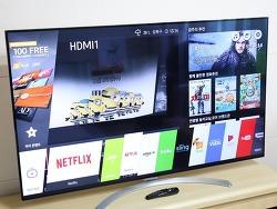 65인치 LG TV 65SJ8500 UHD 이제 해외직구 장점 단점