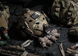 [Helmet] CAG(델타포스) 헬멧 4홀 타공 작업기및 세팅기.