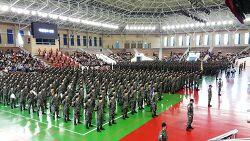 육군훈련소 수료식 2017년 9월 26일