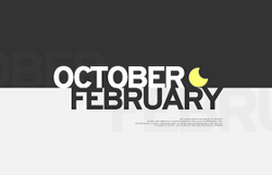 OCTOBER FEBRUARY
