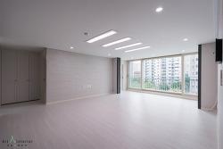 부천 상동 진달래마을 대우 푸르지오 아파트 거실 인테리어(121㎡)