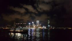 홍콩 야경 - 스타페리 + 침사추이, 스타의 거리