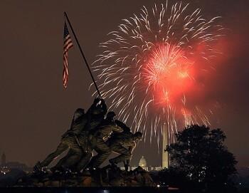 미국의 가장 성대한 축제일인 독립기념일