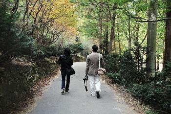 장태산 산책