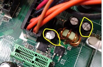 CPU 발열 (과열) 원인 및 메인보드 고장(콘덴서 터짐) 증상