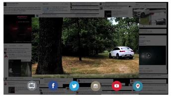 벤츠의 Periscope를 활용한 보물찾기게임  -  #FindTheSUV -