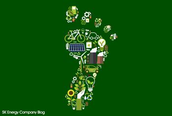 친환경 지구 지킴이! 발자국 지표를 확인하세요!