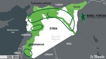 시리아 내전 분석 자료, 르 몽드, 시민내전, 냉전체제, 종교갈등 해법 찾아야