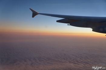로스앤젤레스로 출발 - 대한항공 KE017 (A380)