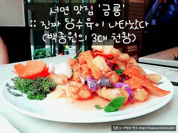 서면 맛집 '금룡' :: 진짜 탕수육이 나타났다 (백종원의 3대 천왕)