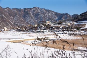 화천의 겨울 풍경