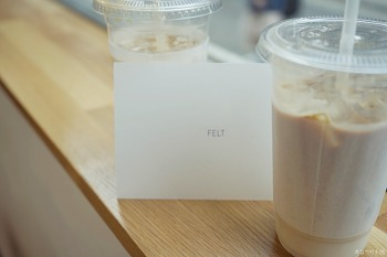 신촌 / 창전동 카페추천 : 펠트 커피 (Felt Coffee)