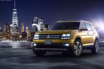 미국 위해 개발된 폭스바겐의 올-뉴 7인승 SUV - 2018 Volkswagen Atlas