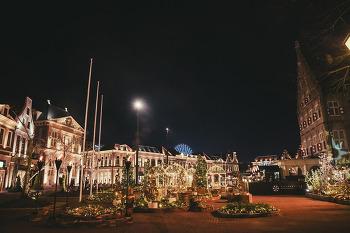 일본 규슈에서 만나는 유럽 마을, <하우스텐보스>의 아름다운 일루미네이션 야경