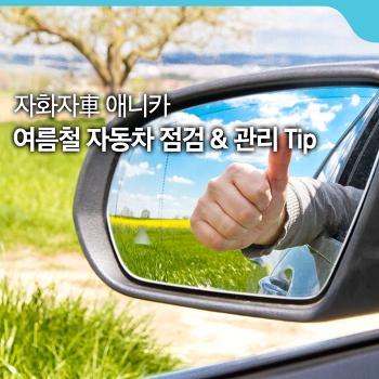 여름철 자동차 점검 & 관리 Tip [자화자車 애니카]
