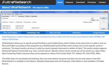 컴퓨터 내에서 원하는 파일 찾기, UltraFileSearch