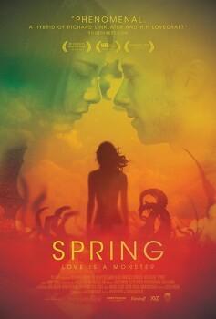 스프링 Spring(2014),영생하는 괴물 여인과의 사랑..
