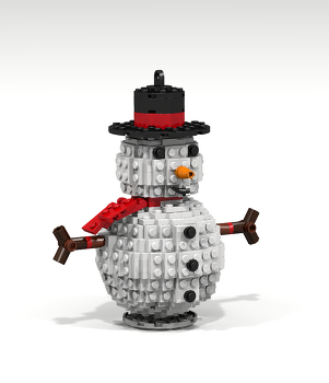 #096 - Snowman by Hackules