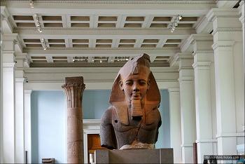 (런던)대영박물관-4관 고대 이집트 조각