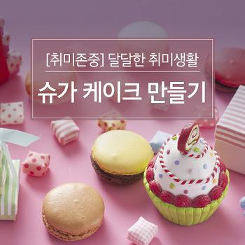 [취미존중] 달달한 취미생활, 슈가 케이크 만들기