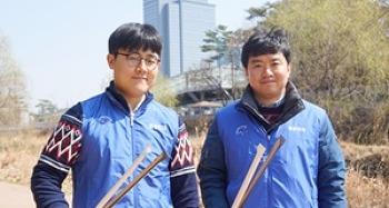 삼성 디지털시티와 함께하는 원천리천 정화활동