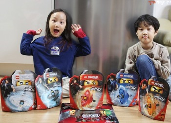 레고 닌자고 스핀짓주 마스터 팽이 남자아이 장난감 선물