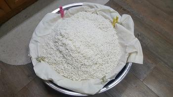 찹쌀 막걸리 (원주 무려 16리터)