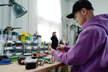 세계 최소형 카메라 RX0, 피규어 아티스트 KIDDO를 만나다!