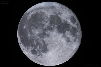 2018 Super Moon 2018년 슈퍼문