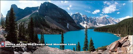 캐나다로키 #04 캐나다 로키의 환상적인 파노라마 사진