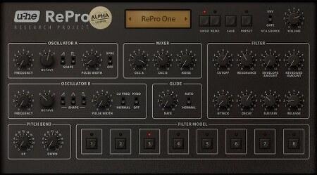 U-He의 Pro one VSTI, RePro-one 소식.
