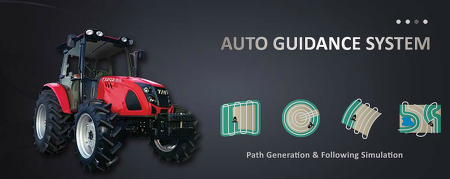 Unmanned Solution - 농업용 자율주행 트랙터