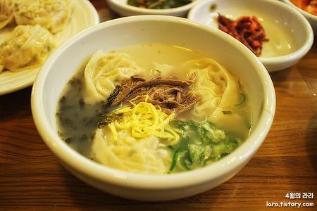 [분당정자동맛집·분당만두맛집] 만두가 맛있는 '선영국밥'