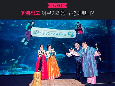 인증샷만 올리면 얼라이브스타 입장권이 무료? 추석맞이 아쿠아플라넷 일산 현장이벤트 대공개