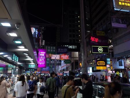 홍콩, 몽콕 야시장