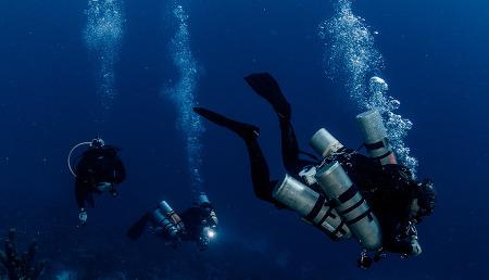 심해잠수에 시도 되었던 특수액체 퍼플루오로데칼린