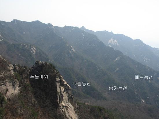 북한산등산코스: 삼각산의오지탐험 제18탄-매봉능선(응봉)