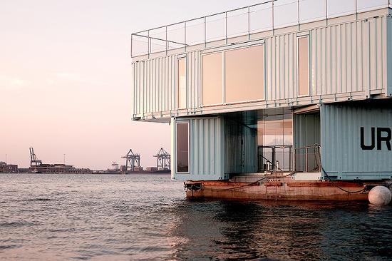 *바다위 컨테이너 하우스 [ BIG ] floating student housing