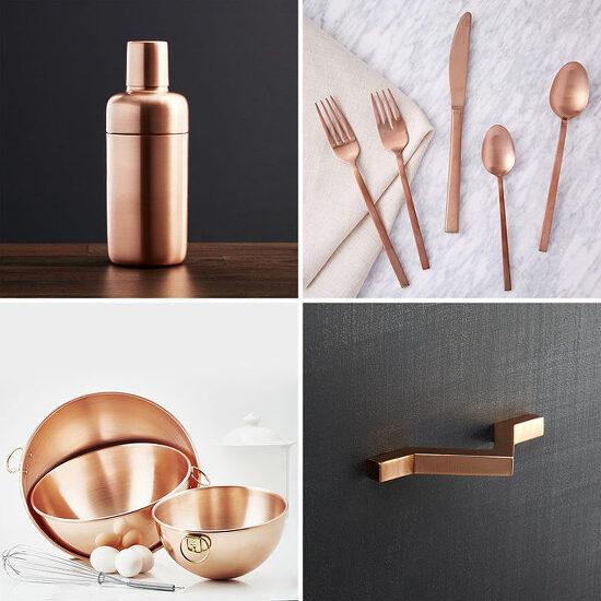 황동 주방 가구12 Ways To Add Copper To Your Kitchen