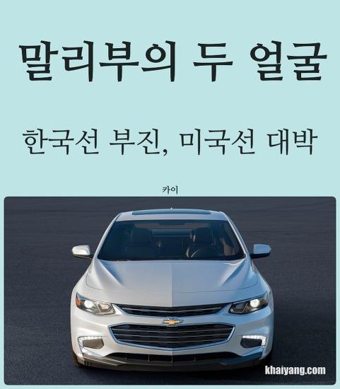 말리부 두 얼굴, 한국은 부진 미국선 대박