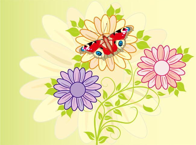 [EPS] 사실적인 느낌의 나비일러스트
